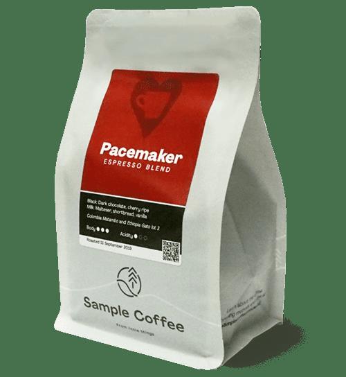 Pacemaker espresso blend bag